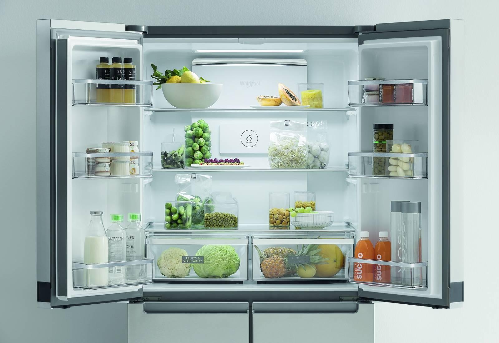 Immagine Whirlpool, il nuovo frigorifero conserva i cibi freschi più a lungo nel modo più naturale 2