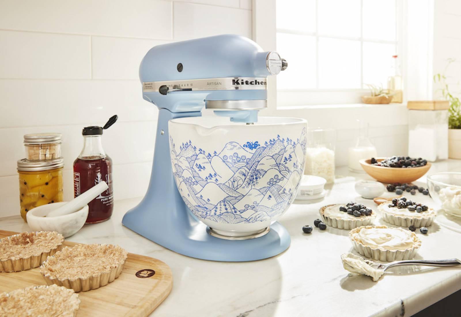 Immagine Kitchen Aid: linea Palma e ciotole personalizzate 2