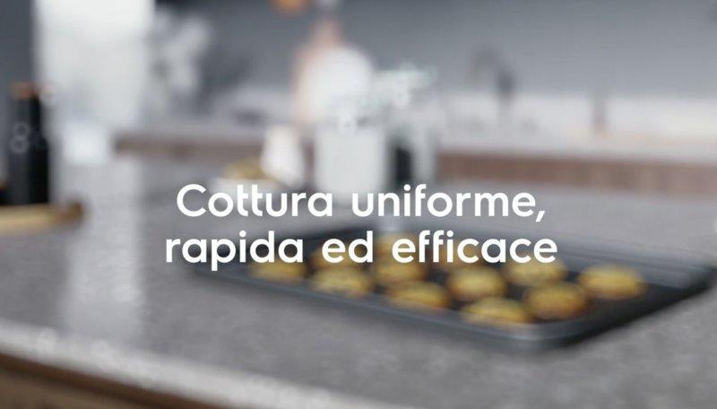 La cottura uniforme nei forni Electrolux