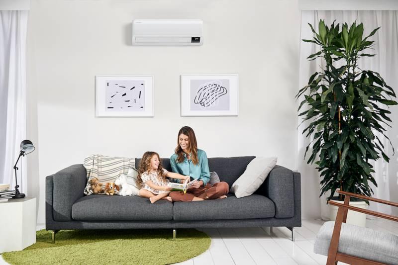 Le mamme e l'uso del climatizzatore: nessun pregiudizio