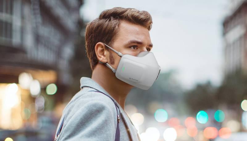 La mascherina diventa un vero e proprio purificatore d'aria indossabile