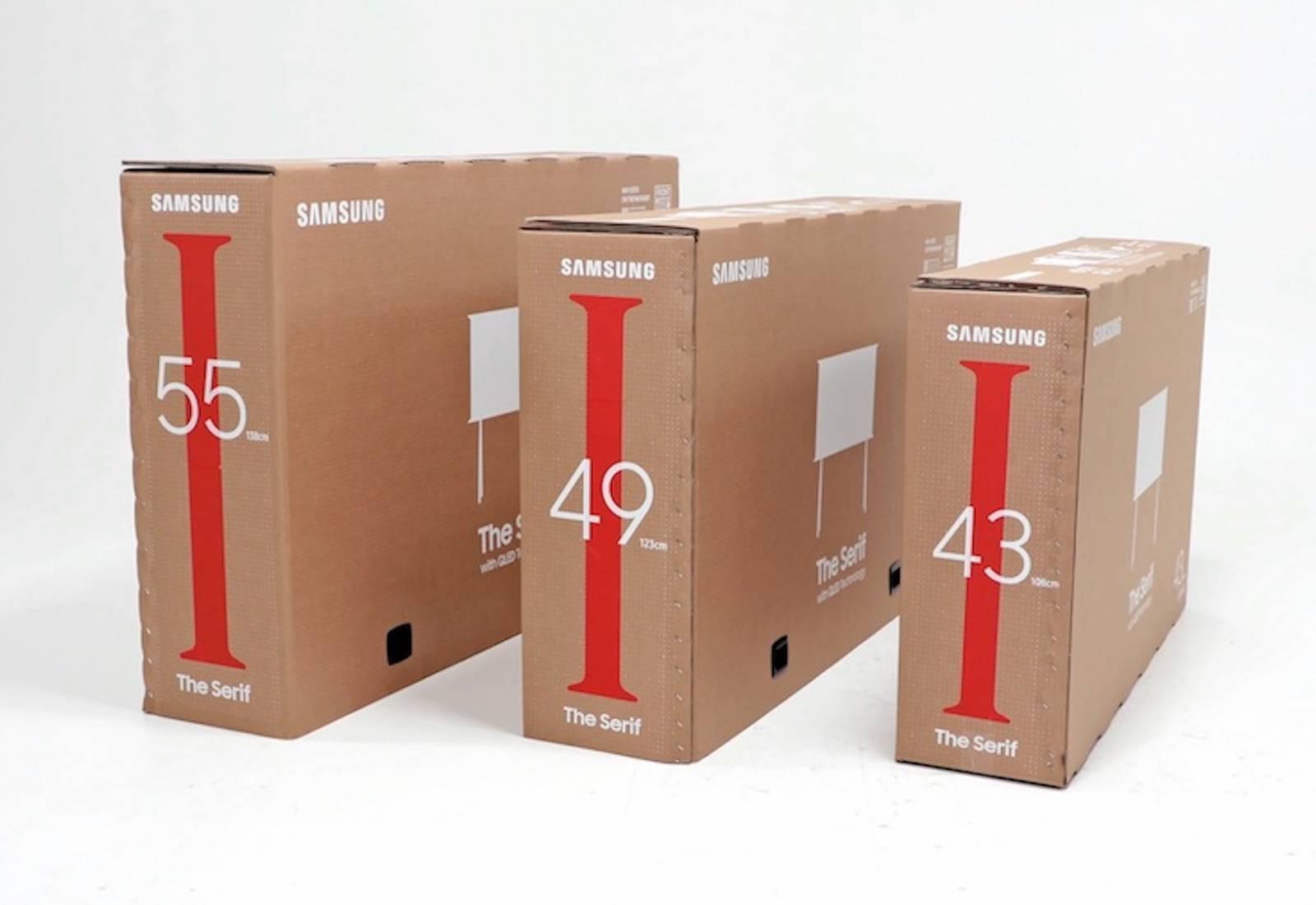 Immagine Il packaging di Samsung diventa arredo 1