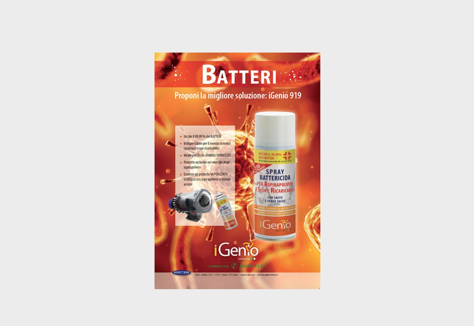 Immagine Il disinfettante per aspirapolvere si chiama iGenio 1