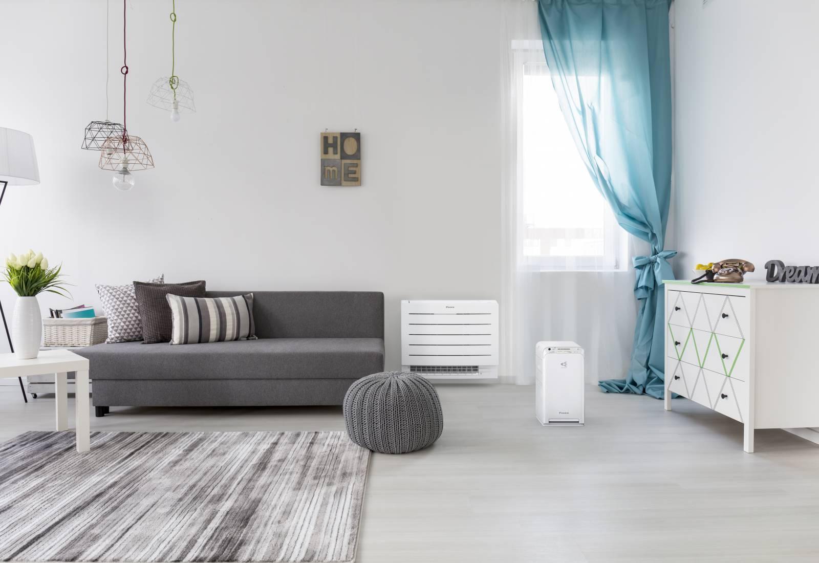 Immagine Perfera di Daikin, comfort a parete o a pavimento 1