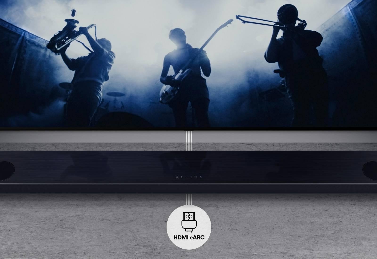 Immagine Audio premium con le soundbar 2021 di LG 1