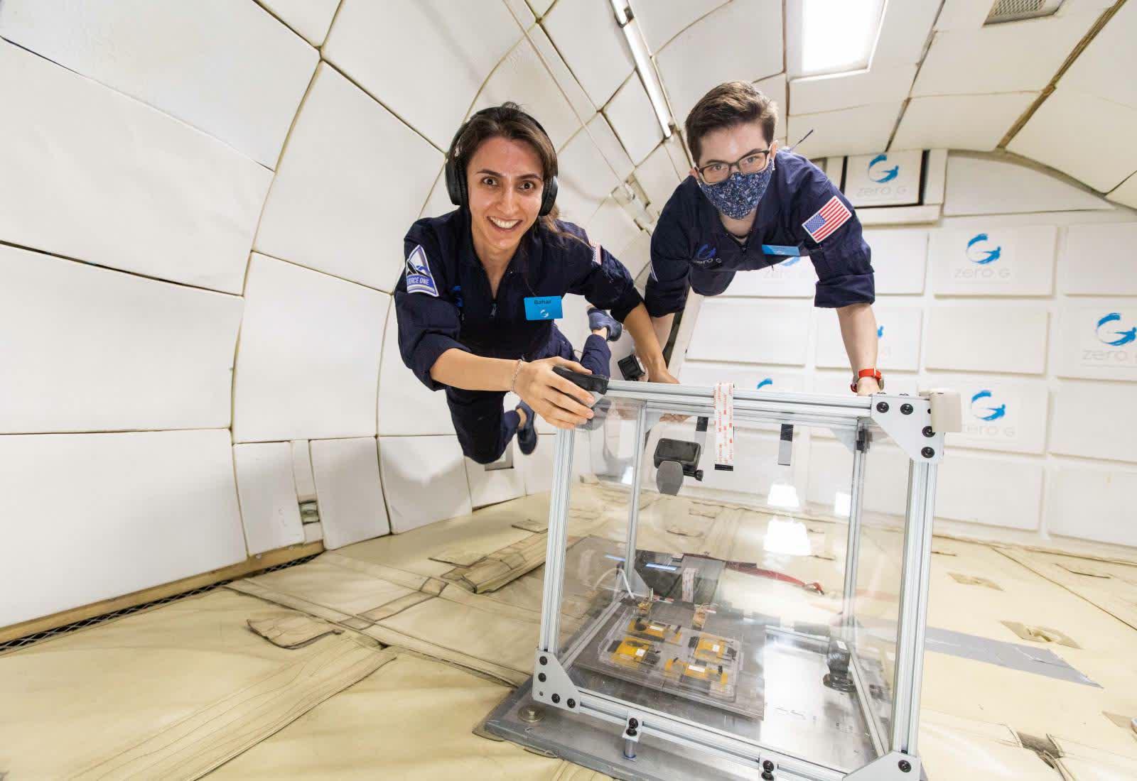 Immagine Il frigorifero va nello spazio 2