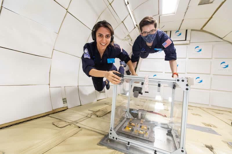 Il frigorifero va nello spazio
